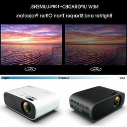 18000lumens led wifi home theater 3d video