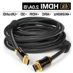 4K HDMI 50/60Hz HDMI 2.0 Cable for PS3 Projector HD LCD Appl