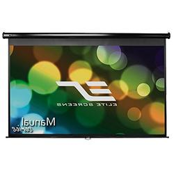 Elite Screens Manual, 139-inch 16:10, Pull Down Projection M