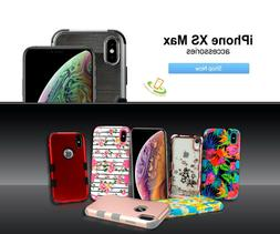 "For Apple iPhone XS Max 6.5"" Protective Shockproof Hybrid Ru"