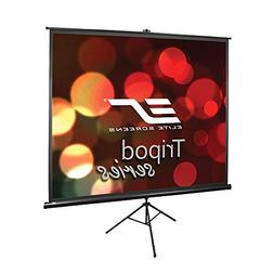 Elite Screens Tripod Series, 100-INCH 4:3, Portable Pull Up