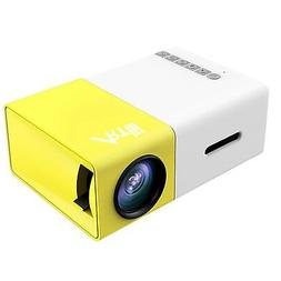 Artlii Fun Portable Mini Home Support 1080P Video Projector