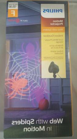 Philips Halloween LED Motion Projector Steady Web w/ Spiders