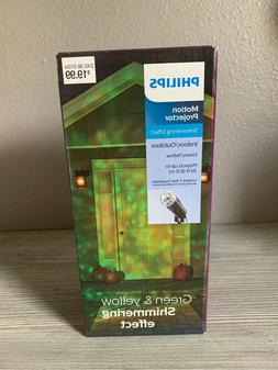Philips Halloween Motion Projector with LED Bulbs - Green &