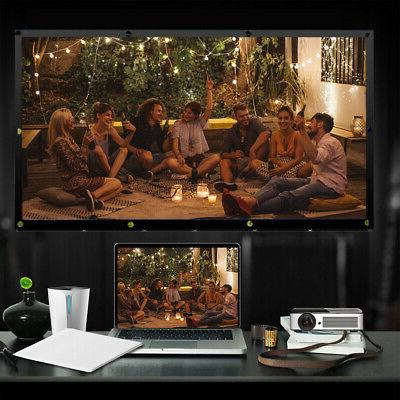 100 Projector Projection Home Theater Movie HD PVC T3E0
