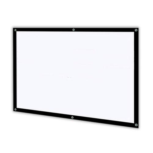 100''Inches Projector Screen Outdoor Projection HD for Epson