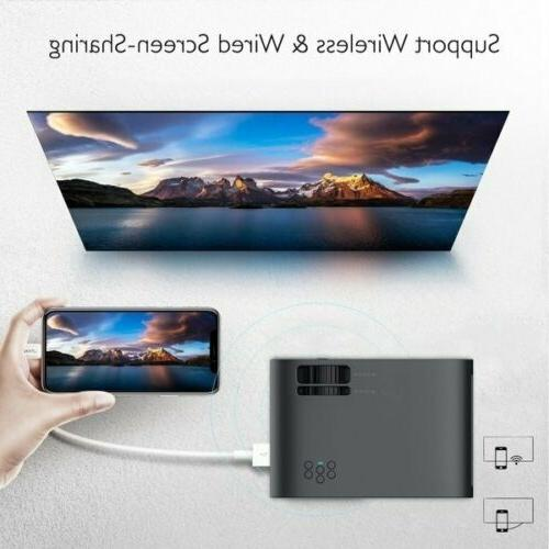 4K LED Theater Projector Video Movie