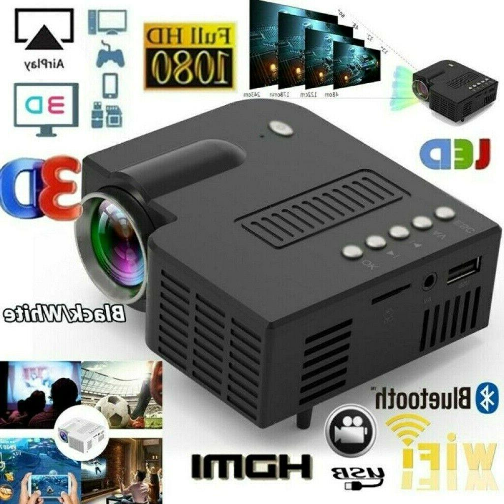1080p mini led smart home theater projector