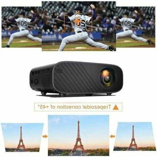 18000Lumens WiFi Home Theater 3D Projector Cinema HDMI HD