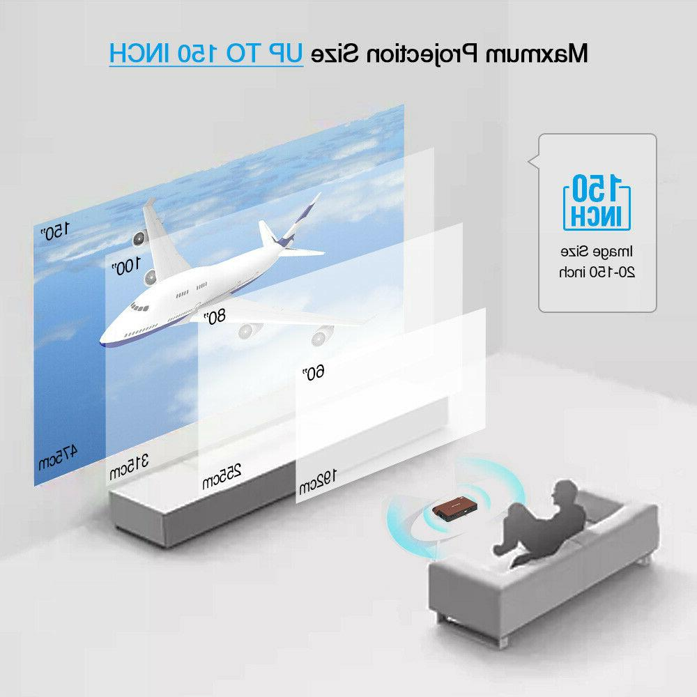 3D Size Projector Home Theater Presentation HDMI