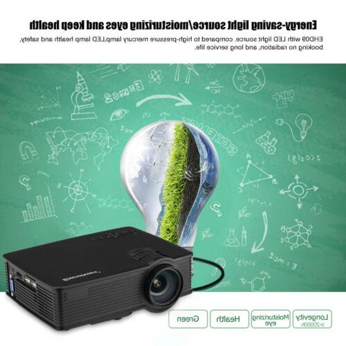 3D LED LCD Projector Home Video