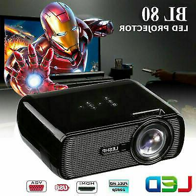 3d projector 1080p fhd led lcd multimedia