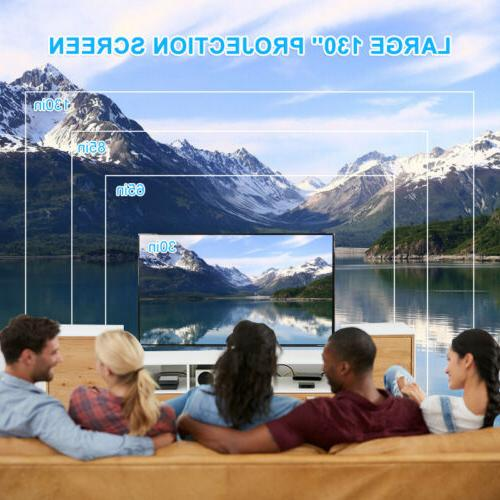 4K LED Smart Home Theater Android 6.0 Wifi 3D Video Movie