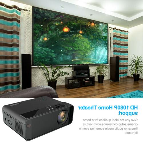 4K Smart Home Theater Projector Android Video Movie