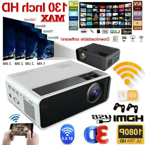 4k 1080p fhd led smart home theater