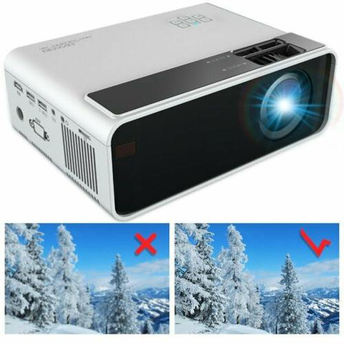 4K 3D LED Projector Android BLuetooth Theater