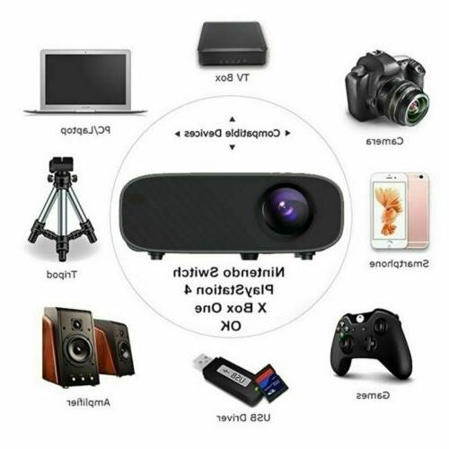 4K LED Projector BT 1080P Home Theater 8GB