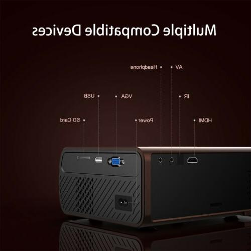 4K LED Android BT 1080P HD Home