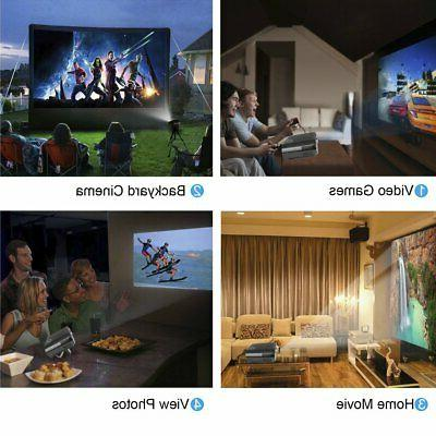 7000 HD 1080P Projector 3D Home Theater