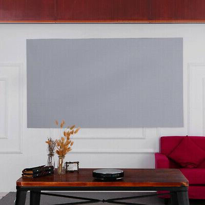 80-inch Portable Projector Screen 16:9 Video Projection Scre