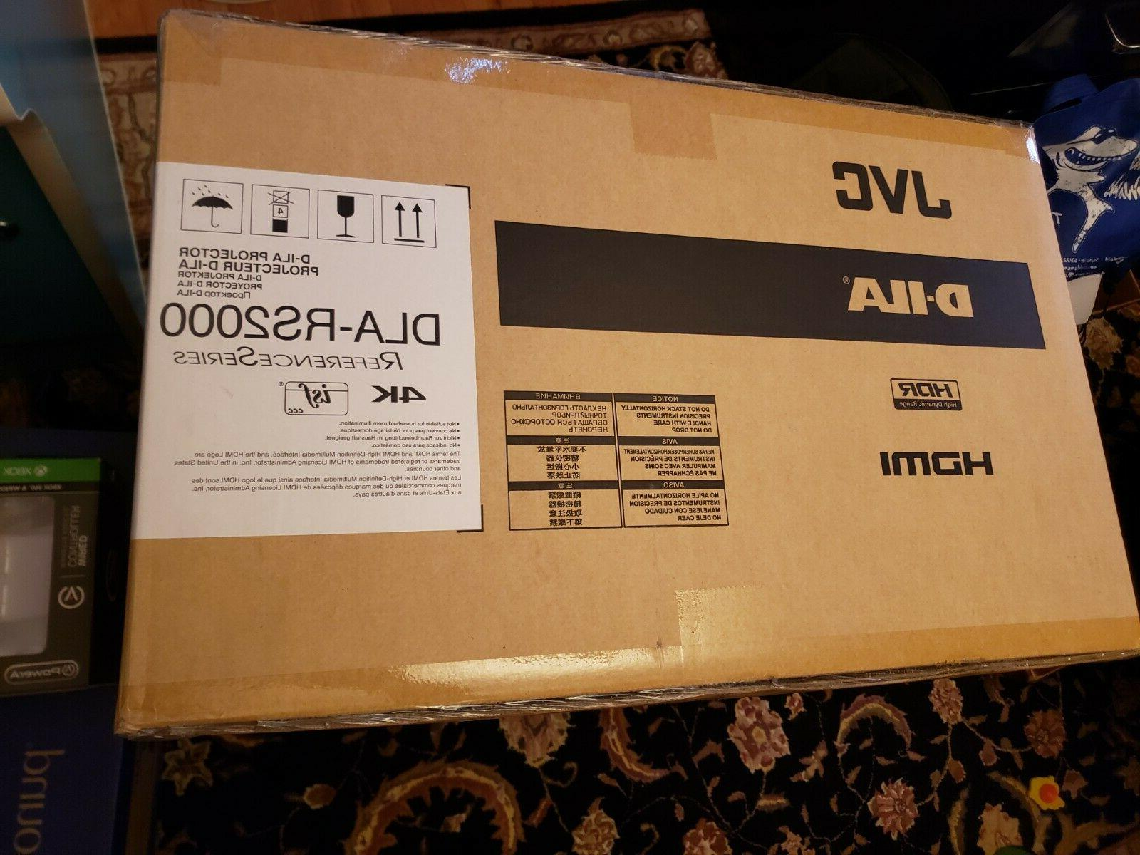 JVC Native HDR Home Projector, brand new