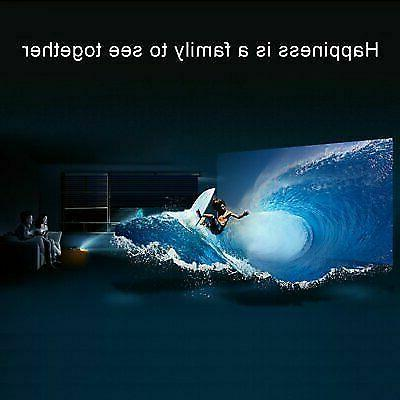 3D Projector 1080P LED Multimedia Home Theater VGA