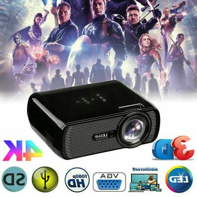 led smart home theater projector 4k 1080p
