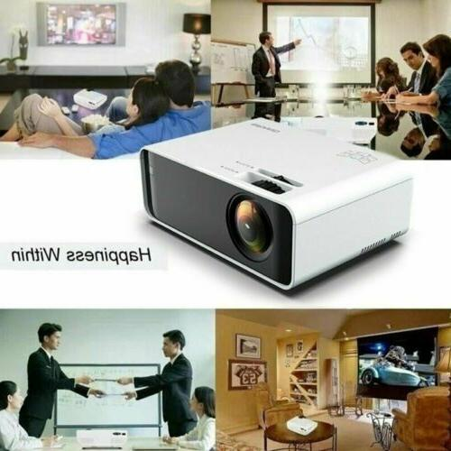 LED Home Theater Projector 4K 1080p FHD Movie HDMI