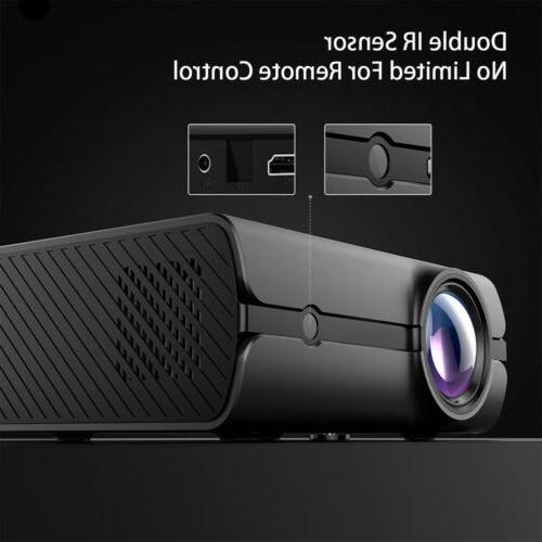 Projector Wifi BT 3D Movie
