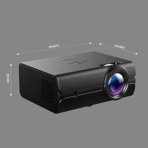 LED Smart Home Projector Wifi 3D Video