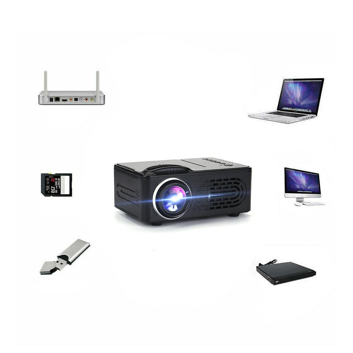 Mini Projector Full HD Portable Movie Home HDMI
