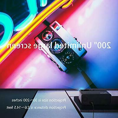 Mini Projector with Black