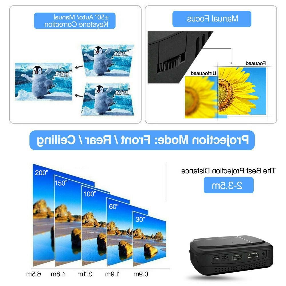 DLP Smart Android Projector BT 1080P Meeting
