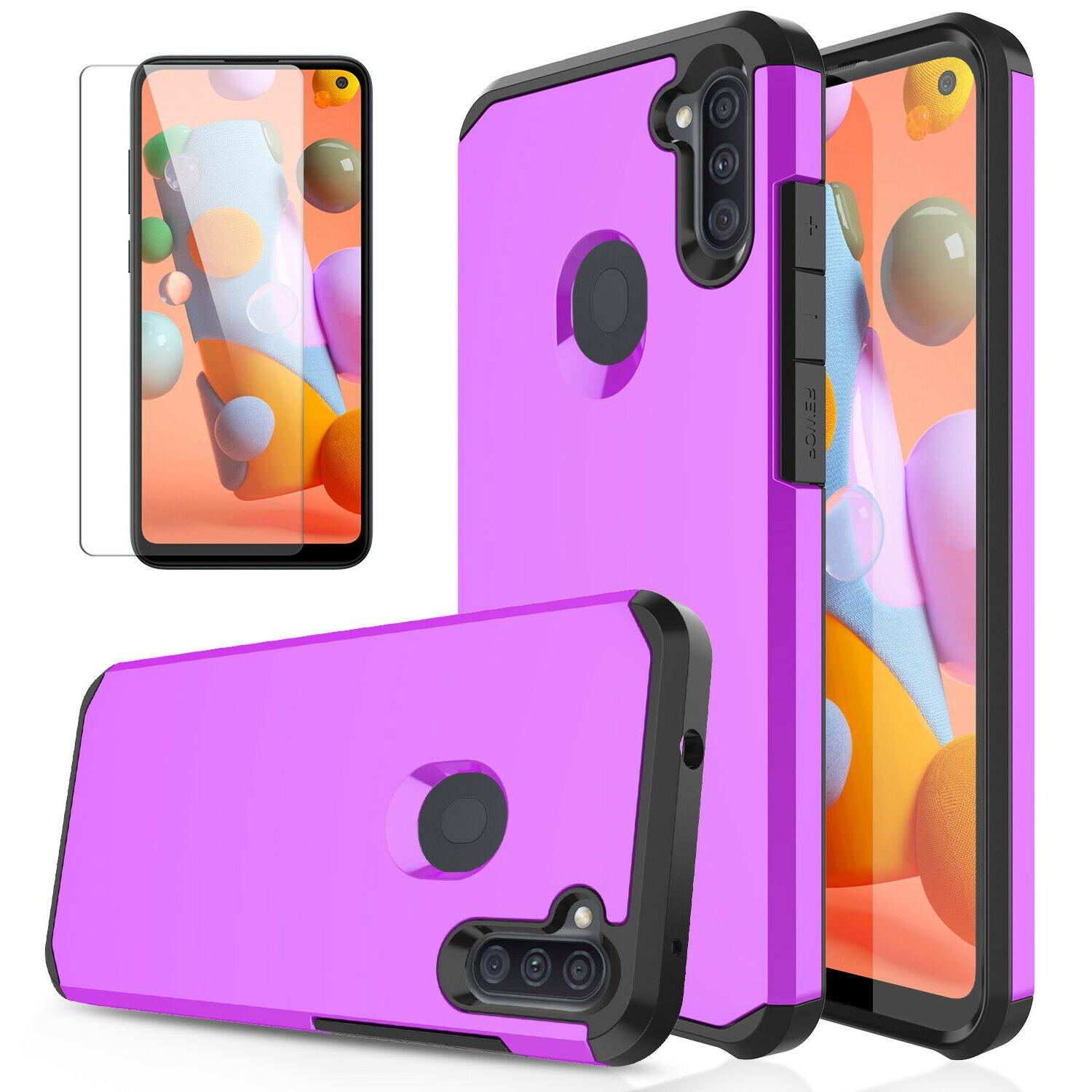 For Samsung Case Shockproof Hard Cover/Screen Protector