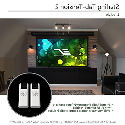 """Elite Screens Starling 2 135"""" 16:9, 8K Ambient Light Rejecting Projector Projection"""