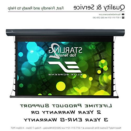 Elite 2 16:9, 8K Ultra HD Ceiling and Ambient Light Rejecting Projector Screen, 5D Projection