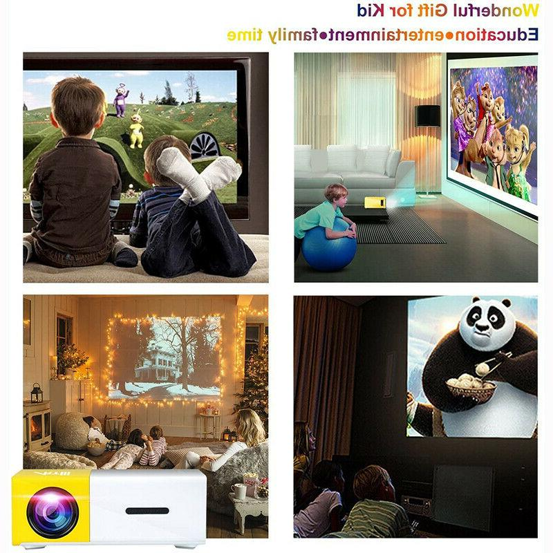 YG300 Theater 1080P USB SD LED Projector US