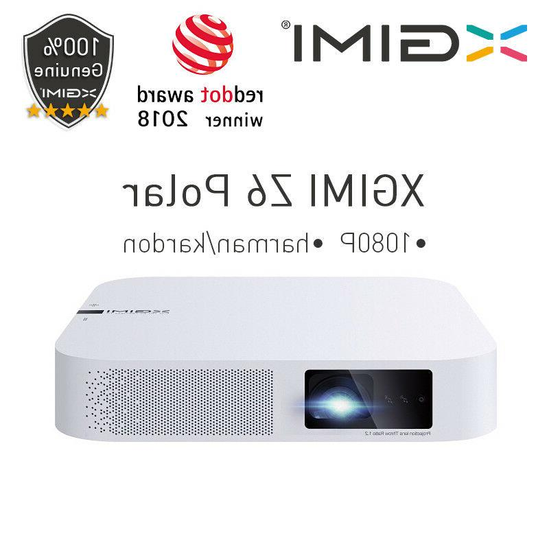 z6 polar dlp mini projector 1080p full