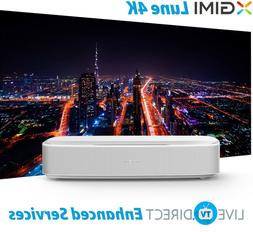 XGIMI Lune4K Native 4K UHD Laser TV 3D Android Smart TV Home