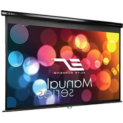 Elite Screens Manual Series, 84-INCH 16:9, Pull Down with 30
