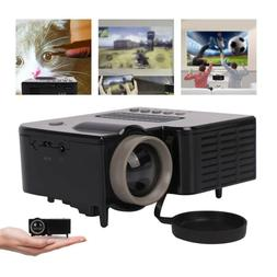 1080P Mini Projector LED HD Micro Mobile Phone Video Home Th