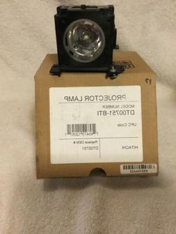 New Compatible DT00751 Replacement Projection Lamp for Hitac