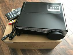 NEW Gzunelic 6500 lumens Android WiFi 1080p Video Projector