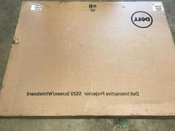 NEW Dell PTDRV Interactive Projector S520 Screen / Whiteboar
