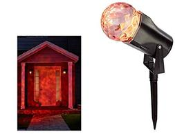 Philips Halloween Motion Projector with LED Bulbs - Red & Or