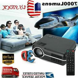 portable 3d multimedia projector home