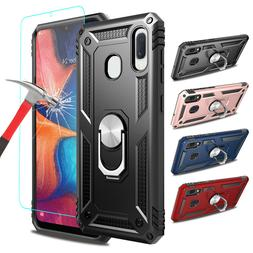 For Samsung Galaxy A10e A20 A50 Case With Ring Holder Stand+