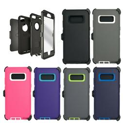 For Samsung Galaxy Note 8 Case Cover & Belt Clip   Fits Otte