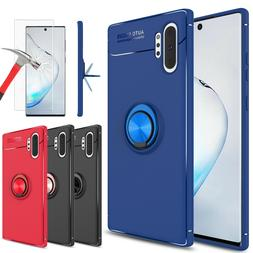For Samsung Galaxy S9/Note 9/10+/S10 Plus Case With Ring Hol