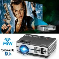 Smart Android Mini Projector WIFI Home Theater Movie Party N